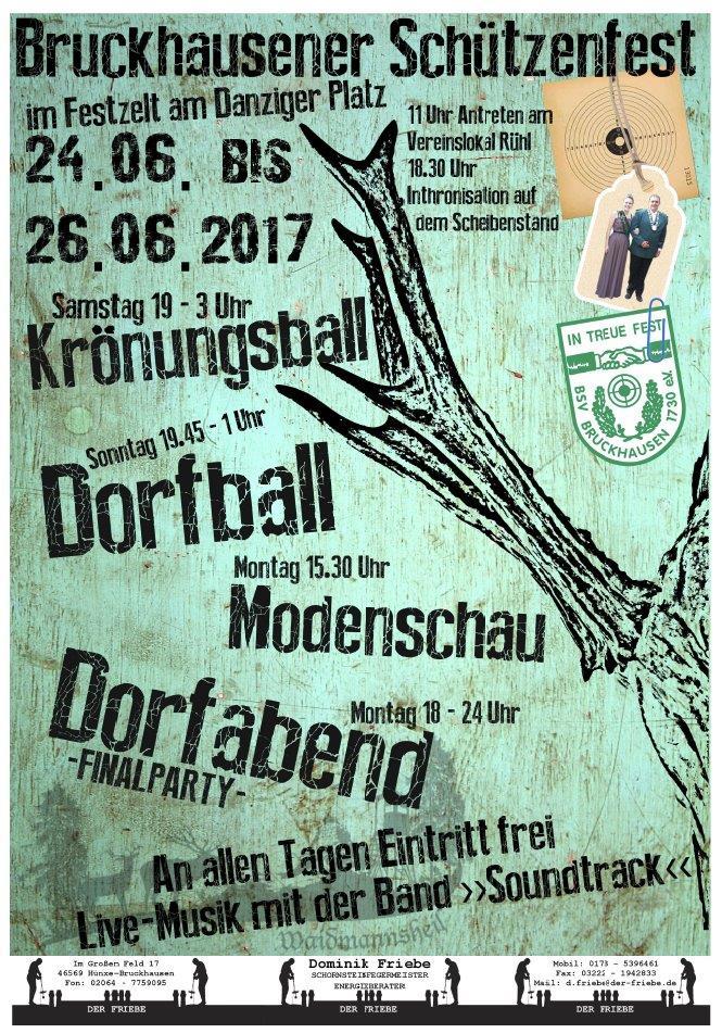 Schützenfest Bruckhausen: Wer regiert nach König Christian im Möllebeck-Dorf?